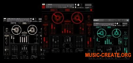 Tronsonic The Tronto Trilogy (KONTAKT) - 3 виртуальных синтезатора