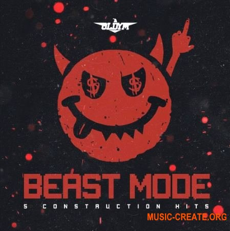 OldyM Beatz Beast Mode Construction Kits (WAV) - сэмплы Dark Trap