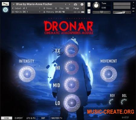 Gothic Instruments DRONAR Cinematic Atmospheres (KONTAKT) - кинематографическая библиотека