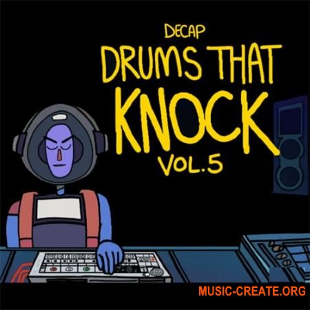 Splice Sounds Decap Drums That Knock Vol 5 (WAV) - сэмплы ударных