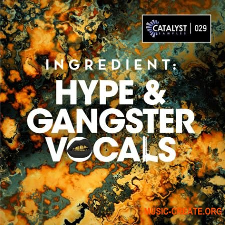 Catalyst Samples Ingredient Hype and Gangster Vocals (WAV) - вокальные сэмплы