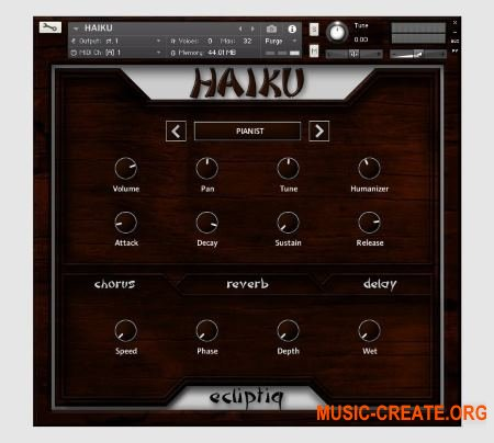 Ecliptiq Audio Haiku (KONTAKT) - библиотека струнного инструмента