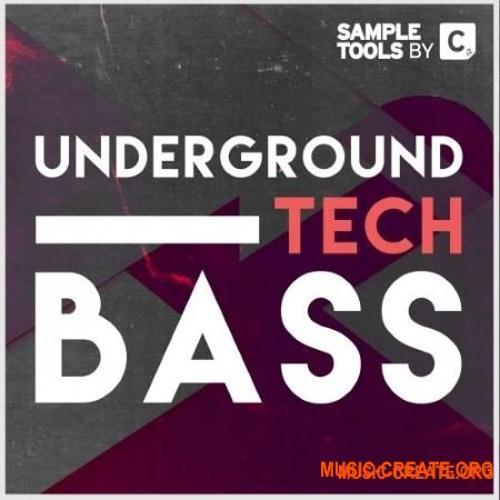 Cr2 Records Underground Tech Bass (WAV, MiDi)