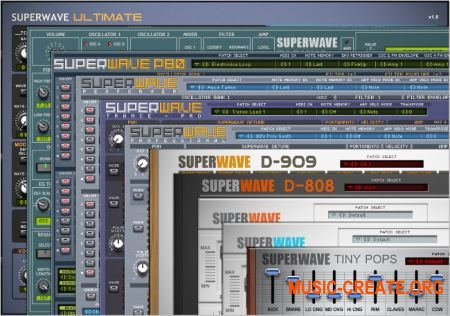 SuperWave Plugins Bundle v1.0 (Team R2R) - сборка плагинов
