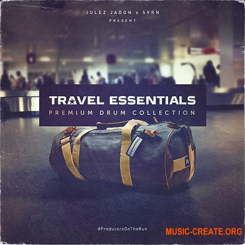 Julez Jadon Travel Essentials Premium Drum Collection