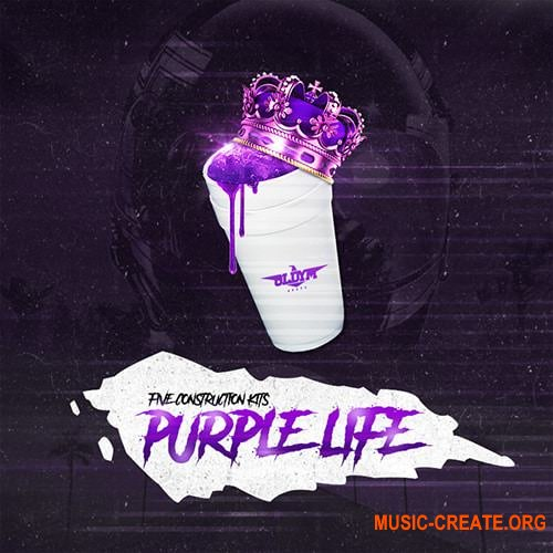 OldyM Beatz Purple Life