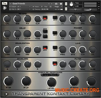 Global Audio Tools Transparent KONTAKT