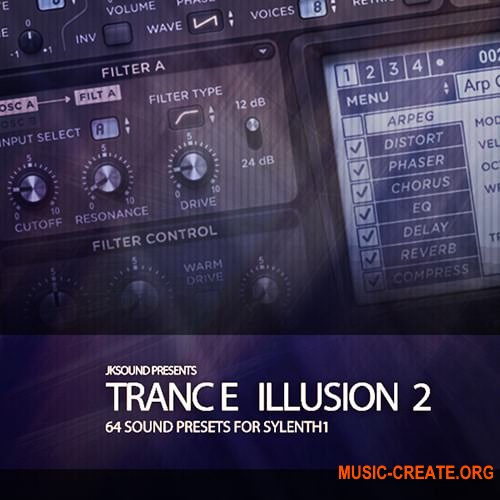 JK Sounds Trance Illusion Vol.2 Soundset For Sylenth1