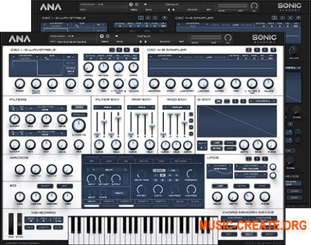 Sonic Academy - ANA v1.03 WiN & MAC OSX (UNION) - синтезатор