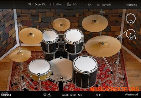 Audio Assault Westwood Drums v1.0.0