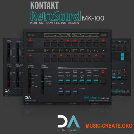 Difficult Audio RetroSound MK2 KONTAKT