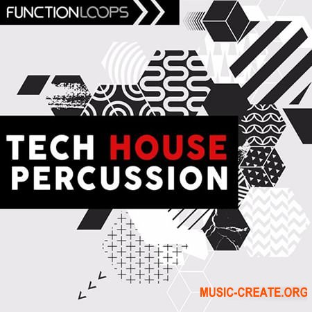Function Loops Tech House Percussion