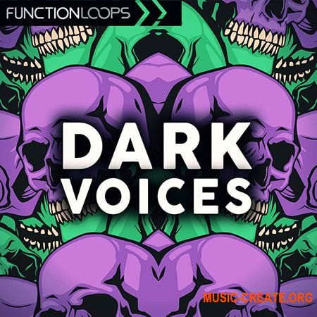 Function Loops Dark Voices (WAV) - сэмплы вокала