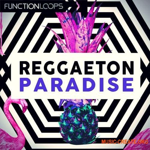 Function Loops Reggaeton Paradise (WAV MiDi SYLENTH1 SPiRE) - сэмплы Reggaeton, Рор