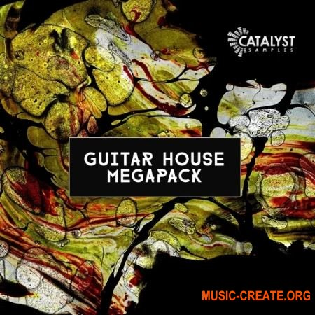 Catalyst Samples Guitar House Megapack (WAV MiDi) - сэмплы House, Future House