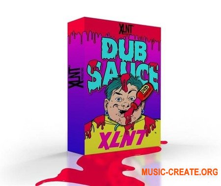 XLNTSOUND  DUBSAUCE  Dubstep Drum Sample Pack  Plus Extras