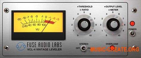 Fuse Audio Labs VCL-4 v1.2.0 CE (Team V.R) - имитатор раритетного оптического левеллера
