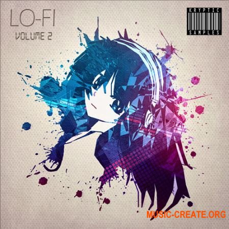 Kryptic Samples Lo-Fi Vol 2 (WAV MiDi) - сэмплы Lo-Fi Hip Hop