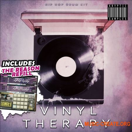 Kryptic Samples Vinyl Therapy (WAV MiDi REASON REFiLL) - сэмплы Hip Hop, Urban