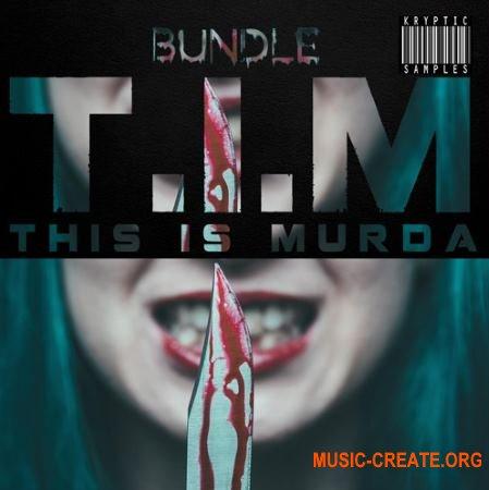 Kryptic Samples TIM Bundle (This.Is Murda) (WAV MiDi) - сэмплы Trap