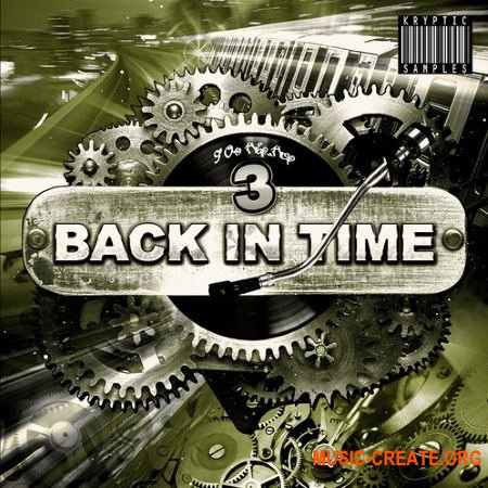 Kryptic Samples Back In Time 3 (WAV MiDi) - сэмплы Hip Hop