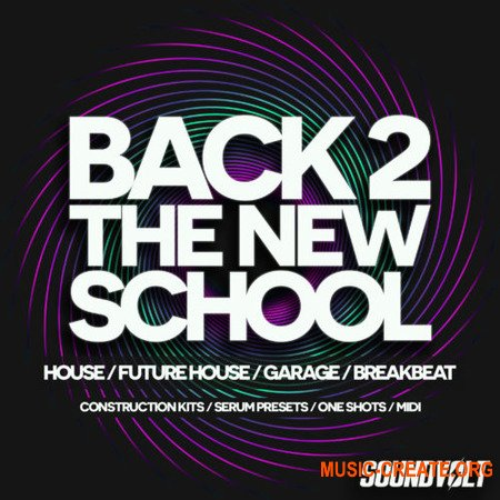 Soundvolt Back 2 The New School