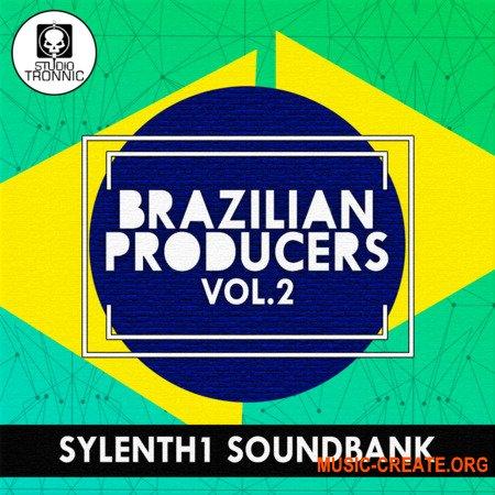 Studio Tronnic Brazilian Producers Vol 1, 2 For SYLENTH1 (Sylenth1 Presets) - библиотека звуков Brazilian Bass