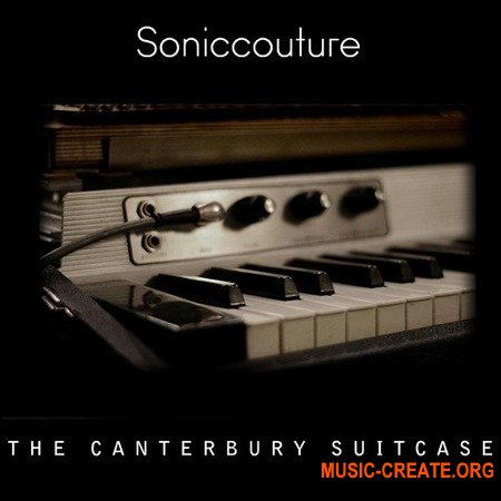 Soniccouture The Canterbury Suitcase