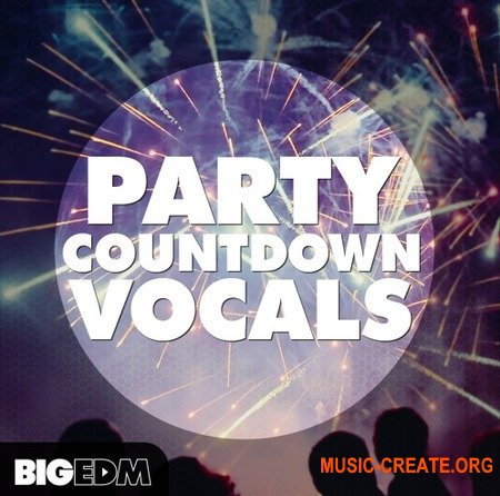 Big EDM Party Countdown Vocals