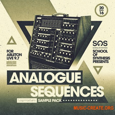 Loopmasters Analogue Sequences Ableton Live 9.7