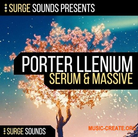 Surge Sounds PORTER ILLENIUM (WAV MiDi SERUM MASSiVE) - сэмплы Future Bass