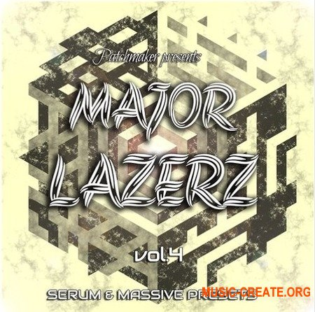Patchmaker Major Lazerz Vol 4