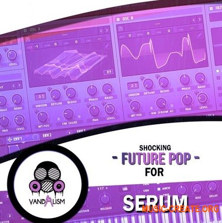 Vandalism Shocking Future Pop For Serum (Serum Presets) - звуки Future Pop