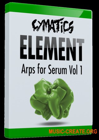 Cymatics Element Arps for Serum Vol.1