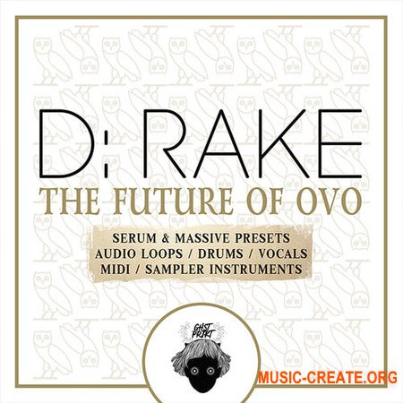 GHST PRJKT D-RAKE The Future Of OVO (WAV MiDi SERUM MASSiVE KONTAKT MASCHiNE 2) - сэмплы и пресеты Trap, Hip Hop