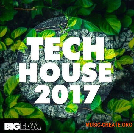 Big EDM Tech House 2017 (WAV MiDi SERUM) - сэмплы Tech House, Techno