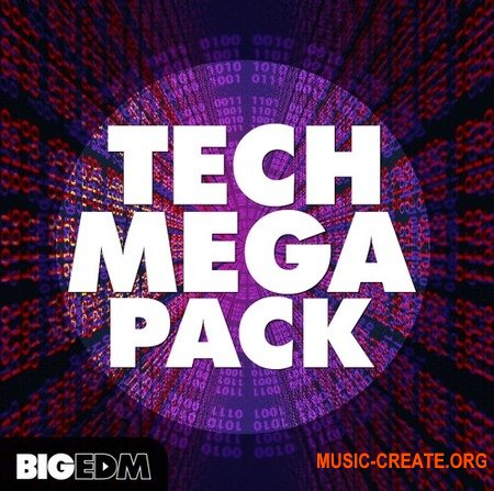 Big EDM Tech Mega Pack