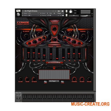 Global Audio Tools Cyanide (KONTAKT) - библиотека звуков EDM, Trap, Hip Hop