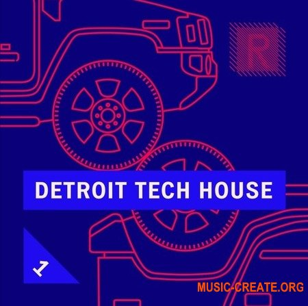 Riemann Kollektion Riemann Detroit Tech House 1 (WAV) - сэмплы Detroit Tech House, House