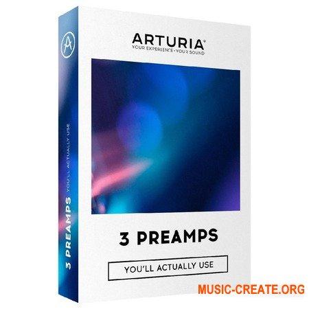 Arturia 3 Preamps v1.1.0  (Team R2R) - плагин предуселитель