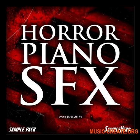 SampleHero 88 Horror Piano SFX (KONTAKT) - сэмплы пианино