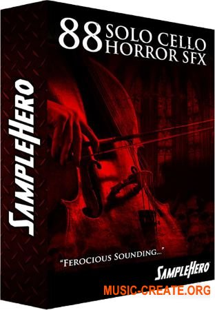 SampleHero 88 Solo Cello Horror SFX (KONTAKT) - сэмплы скрипки