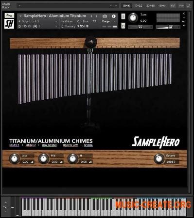 SampleHero Titanium Chimes (KONTAKT) - звуки чаймс