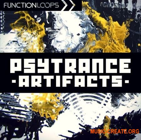 Function Loops Psytrance Artifacts (WAV) - сэмплы Psytrance