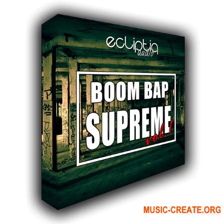 Ecliptiq Audio Boom Bap Supreme Vol 1 (WAV) - сэмплы ударных, Hip Hop