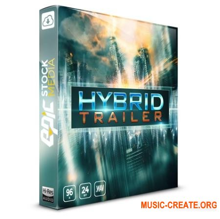 Epic Stock Media Hybrid Trailer (WAV) - звуковые эффекты