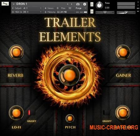 TH Studio Trailer Elements Vol 1 (KONTAKT) - кинематографическая библиотека