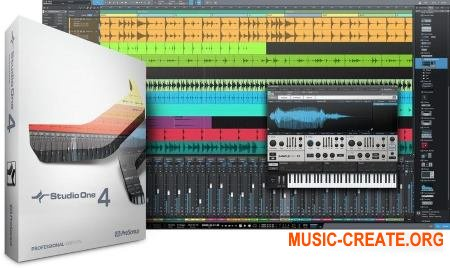 PreSonus Studio One 4 Professional v4.0.0 WiN/OSX (Team R2R) - программа для создания музыки