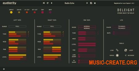 Audiority Deleight v1.1.1 CE (Team V.R) - плагин дилэй