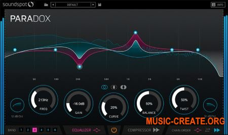 SoundSpot Paradox v1.0.1 WiN OSX RETAiL (Team P2P) - плагин multi-fx